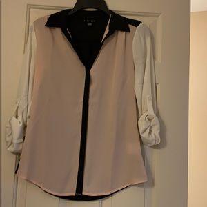 Colorblock blouse